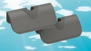 TUNZE Kunststoffklingen 45mm, 2 St.